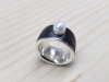 Ring Carbon Silber